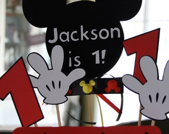 Mickey Mouse Cake Topper or Centerpiece