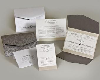 Wedding Invitations - Nicole Collection