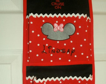 Customizable Disney Cruise Line Fish Extender 2 Pocket