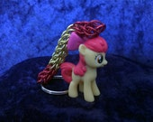 Custom Applebloom My Little Pony Friendship is Magic Chainmaille Keychain