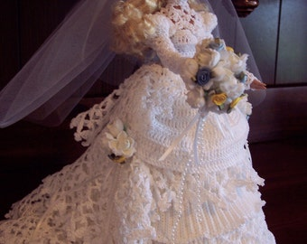 Sale Victorian Wedding Dress Barbie Bed Doll