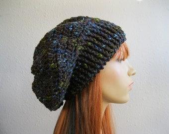 CLEARANCE SALE 30% OFF - Crochet Beanie - Slouchy Beanie - Crochet Slouchy Beanie - Crochet Beanie Hat - Crocheted Beanies - Beanie Hats