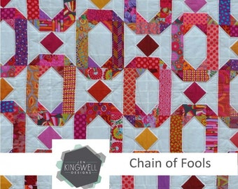 Chain of Fools Quilt Pattern by Jen Kingwell Designs