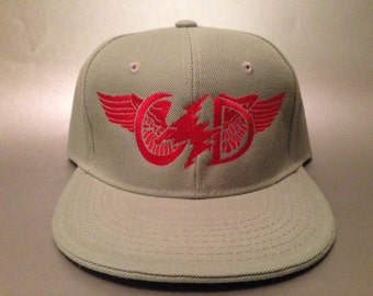 Get Shit Done Wings Fitted Hat made to order Grateful Dead flat bill FREE SHIPPING