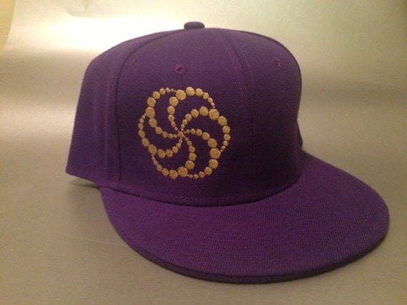 Crop Bubble Fitted Hat made to order flat bill crop circle FREE SHIPPING