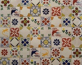 """Mexican Talavera Tile 100 4""""  x 4"""" pieces for your craft or construction project-On Sale"""
