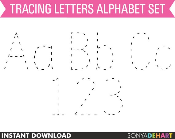 Number Names Worksheets : dotted alphabet letters printable ~ Free ...