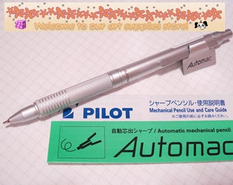 PILOT Automac mechanical pencil 0.5mm Silver HAT-3SR-DS Brand New Made in Japan