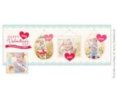 INSTANT DOWNLOAD - Valentine Facebook Timeline Cover template - E653