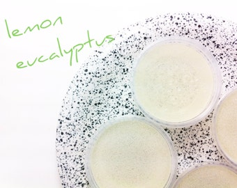 Lemon Eucalyptus Gel Tarts Aromatherapy Scented With Essential Oils, Natural Air Freshener, Dye Free Eco Friendly