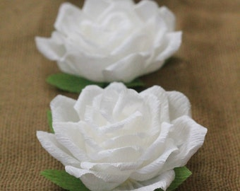 paper roses-paper flowers for wedding decoration table decorations