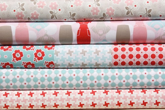 Millie's Closet - Fabric Bundle - 5 Yards - By Lori Holt of Bee in My Bonnet for Riley Blake