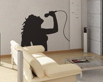 Singer - uBer Decals Wall Decal Vinyl Decor Art Sticker Removable Mural Modern A244