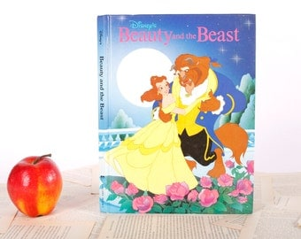 IPAD Cover- Tablet Case made from a Book- Beauty and the Beast