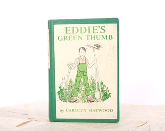 Kindle Cover or Nook Cover- Ereader Case made from a Book- Eddie's Green Thumb