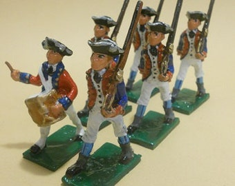 American Revolution Colonial Toy Soldiers of 1776