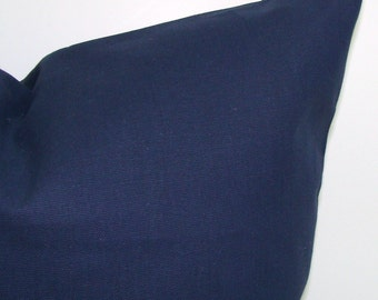 SOLID NAVY PILLOW.16x20, 16x24 or 12x20 inch.Pillow.Blue Decorative Pillows.Lumbar Pillow Cover.Solid Navy Blue.Pillow.Blue.Cushion.cm