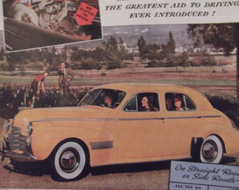 1940 OLDSMOBILE Original Vintage Automobile Advertising Antique Cars Additional Ads Ship FREE Ready To Frame