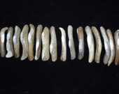 Curved Antler drawer pull, real whitetail antlers
