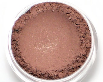 """Burgundy Eyeshadow with Copper Shimmer - """"Prophecy"""" - Vegan Mineral Eyeshadow Net Wt 2g Mineral Makeup Eye Color Pigment"""