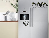 Save the Penguin Fridge Decal