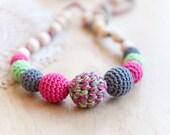 BLACK FRIDAY SALE Nursing necklace - teething necklace - sling accessory