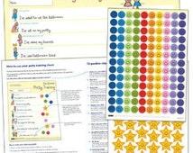 Potty Training Chart - The Ultimate Potty Training Reward Chart: - Award Winning 2014 Parenting Tool  for Toilet Training