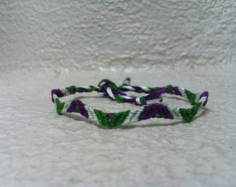 Joker Themed Friendship Bracelet