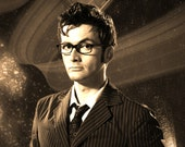 David Tennant Doctor Who Geekograph Limited Edition Metal Art