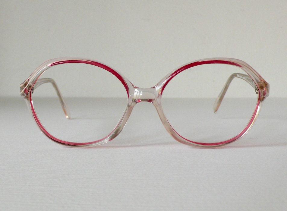 Eyeglass Frames German Made : Magenta Rodenstock German Two Tone Circular Eyeglasses by ...
