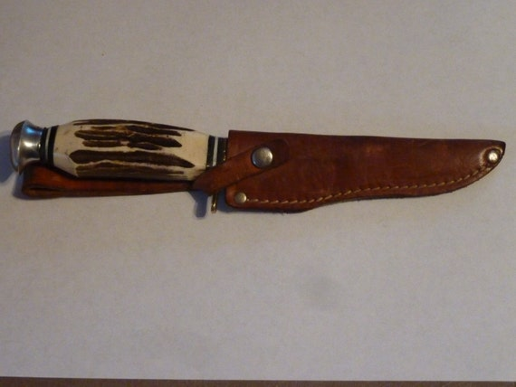 vintage hunting knife  (Olsen)