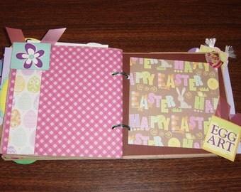 Easter 6x6 Paper Bag Album