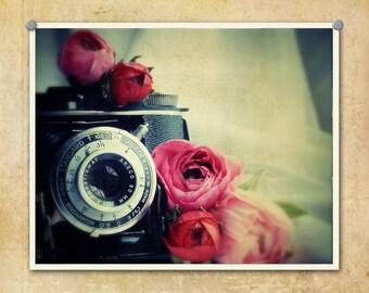 Vintage Camera Photography Ansco Speedex--Fine Art Lomography Print 8x10