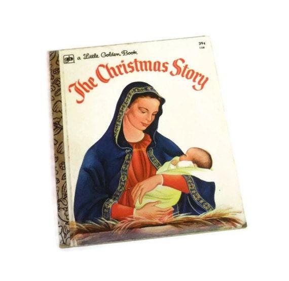 The Christmas Story, A Little Golden Book, 1973, Little Golden Christmas Book