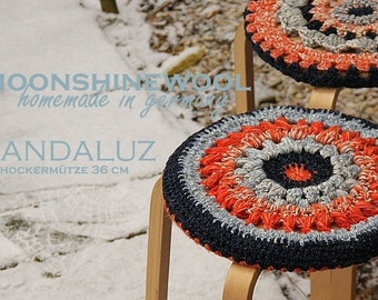 "Slip cover for stool ""Andaluz"""