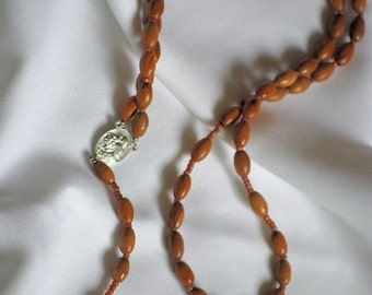 Wood St. Francis Rosary