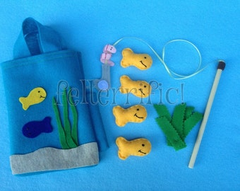 The Fishing Bag- take a long fishing game set
