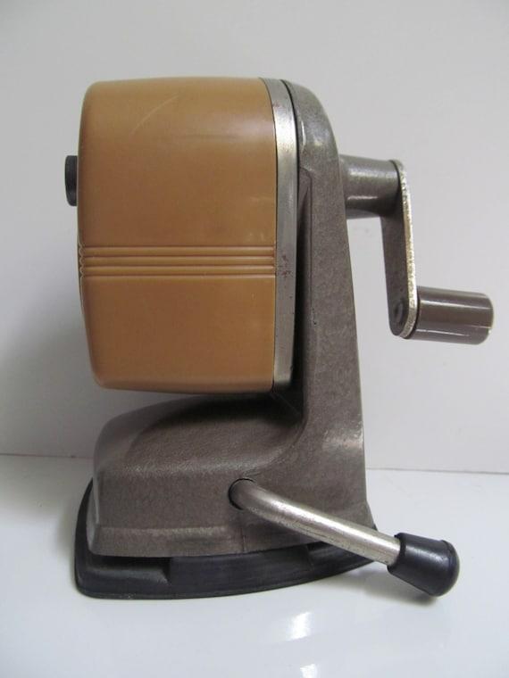 1960 Vintage Apsco Vacu Base Pencil Sharpener