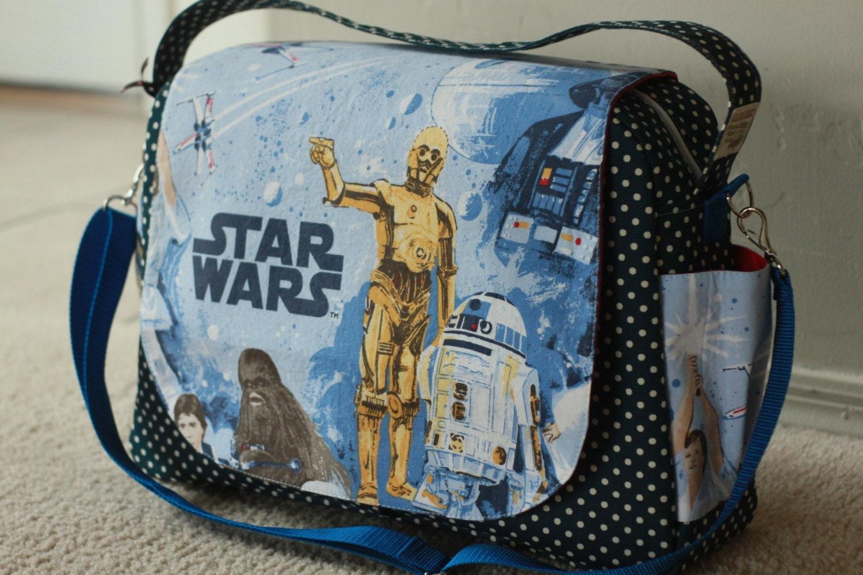 Star Wars Diaper Bag Shoulder And Messenger Bag