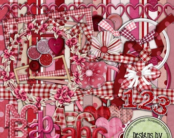 Sweetie- A Digital Scrapbook Kit