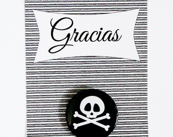 Pirate party pins