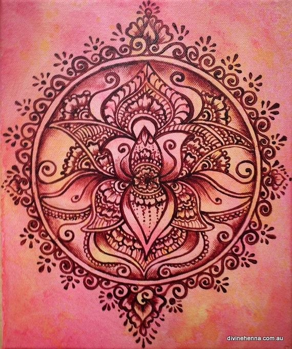 Mehndi Lotus Flower Meaning : Henna designs lotus makedes