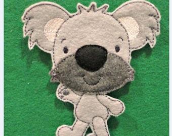 Koala ITH Story Board Piece ONLY Instant Downdload