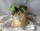 Tea Party Favor Tea, Sugar & Shortbread-Wedding-Bridal Shower-Baby Shower-Belle Savon Vermont