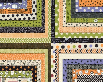 "Charm Pack The Boo Crew Charm Pack Moda Fabrics Quilt Fabric 42 - 5"" Squares Kit Halloween"