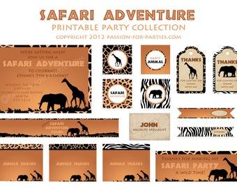 Safari Party Collection