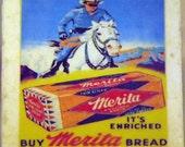 Lone Ranger and Merita Bread Coaster