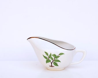 Vintage Creamer by Taylor Smith Taylor, Vintage Taylor Smith Taylor Coffee Tree Pattern