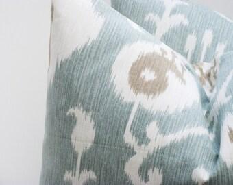 Pillow - Decorative Pillow - Throw Pillow Cover - Ikat Pillow - Ikat Pillow Cover -
