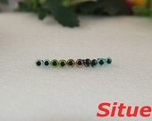 5 pair 4.5mm  fantasy color safety eyes  for needle felted doll-1 pairs for each